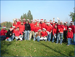 A day of giving Dec 2008